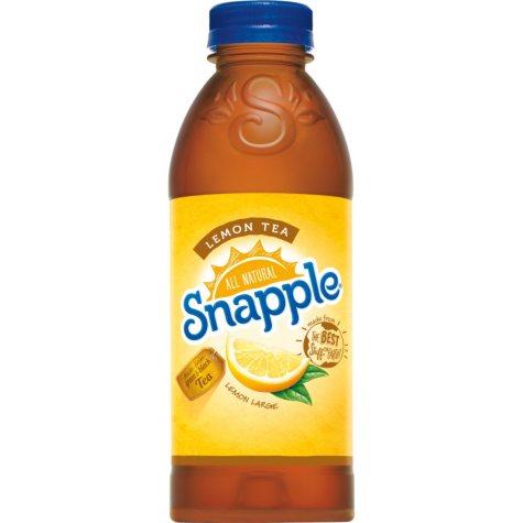 Snapple All Natural Lemon Tea (20 oz., 24 pk.)