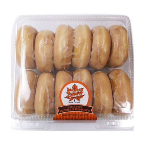 Maple Donuts Jumbo Glazed Donuts (12 ct.)