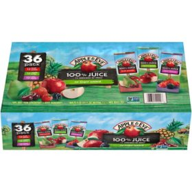 Apple & Eve 100% Juice Variety Pack (6.75 fl. oz., 36 ct.)