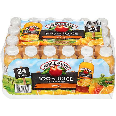 Apple & Eve 100% Orange Juice (10oz / 24pk)