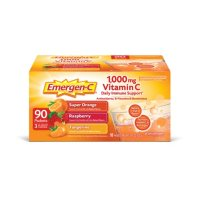 Emergen-C Variety Pack Dietary Supplement Drink Mix with 1000mg Vitamin C, 3 Flavors (90 ct., 32 oz. pks.)
