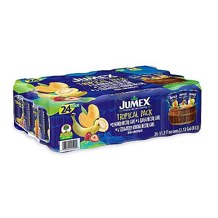 Jumex Tropical Variety Pack (11.3 oz., 24 pk.)