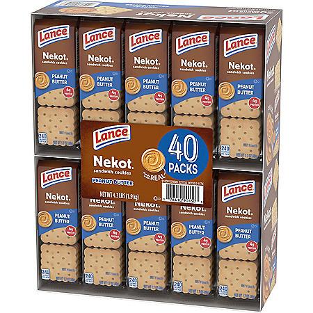 Lance Nekot Sandwich Cookies (1.75 oz., 40 pk.)