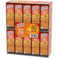 Lance ToastChee Cheddar Cheese (1.41 oz., 40 ct.)