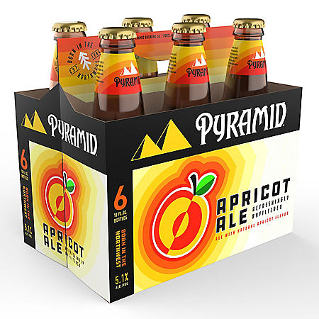 PYRAMID APRICOT 6 / 12 OZ BOTTLES