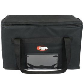 "Sterno Catering Insulated Food Carrier (Black, 24"" x 16"" x 14"")"