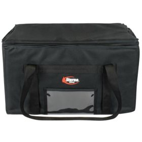 "Sterno Delivery Insulated Food Carrier (Black, 22"" x 13"" x 14"")"