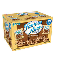 Famous Amos Chocolate Chip Cookies (2 oz., 42 ct.)