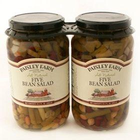 Paisley Farm Five Bean Salad (35.5 oz., 2 ct.)