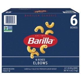 Barilla Elbow Pasta (1lb., 6 pk.)