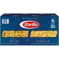 Barilla Pasta Rotini & Farfalle Variety Pack (16 oz., 6 pk.)