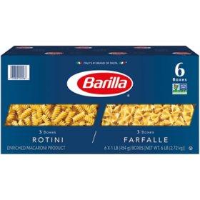 Barilla Pasta Variety Pack (16 oz., 6 pk.)