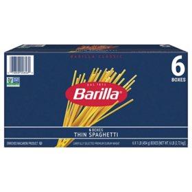 Barilla Pasta Thin Spaghetti (16 oz., 6 pk.)