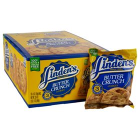 Linden's Butter Crunch Cookies (1.8 oz., 18 ct.)