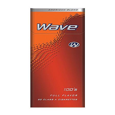 Wave Full Flavor 100's Box (20 ct., 10 pk.) $0.50 Off Per Pack