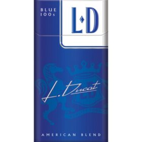 L D Blue 100s Box (20 ct., 10 pk.)