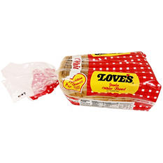 Love's Jumbo White Bread (2 loaves)
