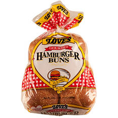 Love's Gourmet Hamburger Buns  (30 oz., 12 ct.)