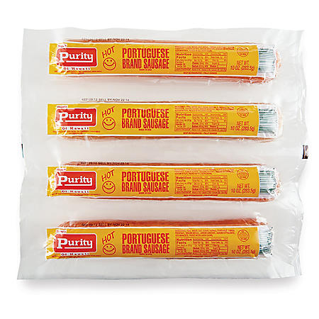 Purity Portuguese Sausage, Hot (40 oz.)