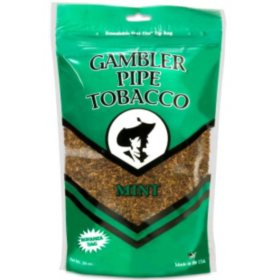 Gambler Large Mint Pipe Tobacco (16 oz.)