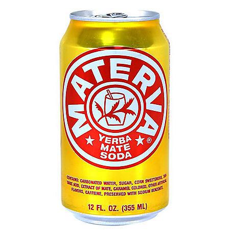 Materva Yerba Mate Soda (12oz / 24 pk)