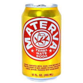 Materva Yerba Mate Soda (12 oz. cans, 24 pk.)