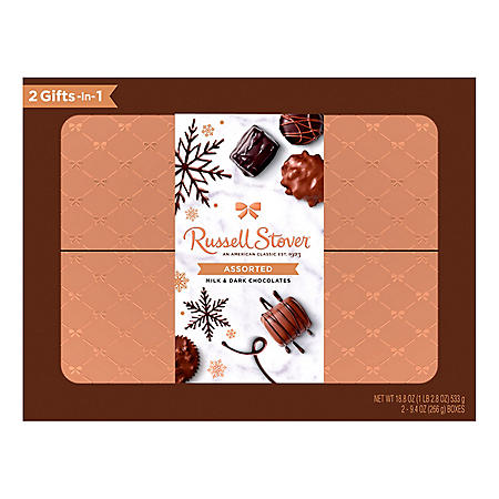 Russell Stover Assorted Chocolate Holiday Box (2pk.)