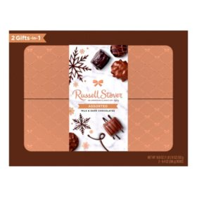Russell Stover Assorted Chocolate Holiday Box (2 ct.)