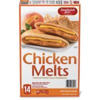 Sandwich Brothers Flatbread Chicken Melt, Frozen (14 pk.)