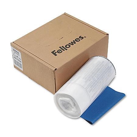 Fellowes - Powershred Shredder Waste Bags, 9 gal Capacity -  100/CT