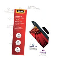 Fellowes - ImageLast Laminating Pouches with UV Protection, 5mil, 11 1/2 x 9 -  100/Pack