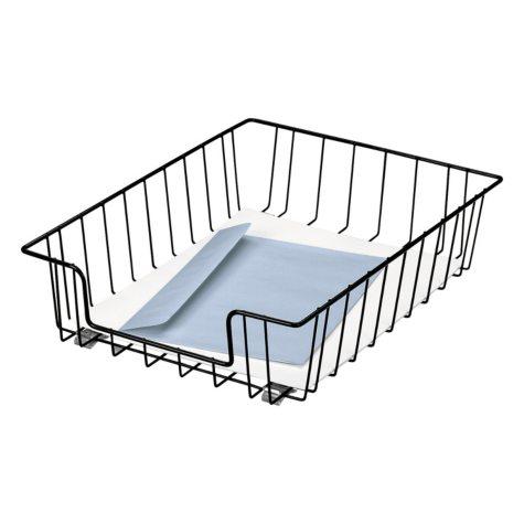 Fellowes - Wire Desk Tray Organizer, Wire -  Black
