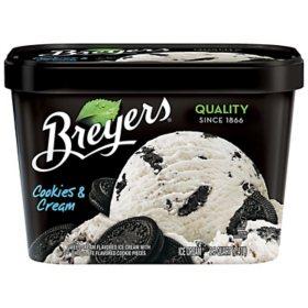 Breyers Ice Cream, Assorted Flavors (1.5 quarts)