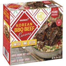 Kronos Korean BBQ Beef Carvers, Frozen (32 oz.)