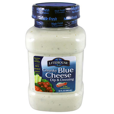 Litehouse Chunky Blue Cheese Dip & Dressing - 32 oz.