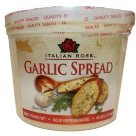 Italian Rose Garlic Spread 40oz.
