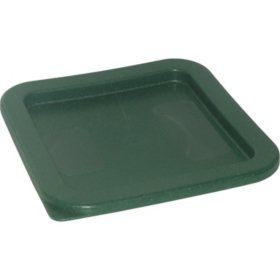 Carlisle Square Plastic Food Storage Lid (Choose Your Size)