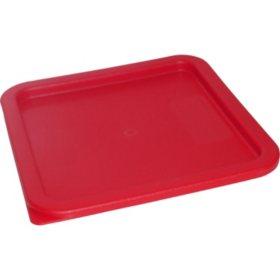 Carlisle Square Plastic Food Storage Lid (Choose Your Size)