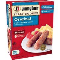 Jimmy Dean Fully Cooked Original Pork Sausage Links (36 ct.)