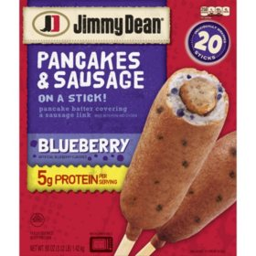 Jimmy Dean Blueberry Pancake and Sausage on a Stick (20 ct.)