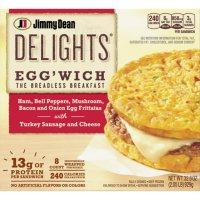 Jimmy Dean Delights Egg'wich Breakfast Frittatas, Frozen (8 ct.)