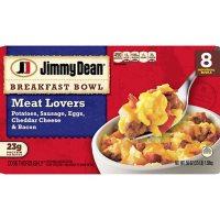Jimmy Dean Meat Lovers Breakfast Bowls, Frozen (8 ct.)