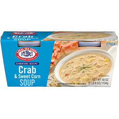 Legal Sea Foods Crab and Corn Chowder (40 oz., 2 pk.)