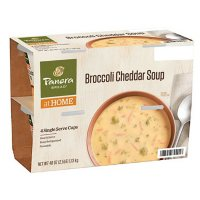 Panera Bread Broccoli Cheddar Soup Single-Serve Cups (4 pk.)