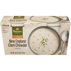 Panera Bread New England Clam Chowder (48 oz.)