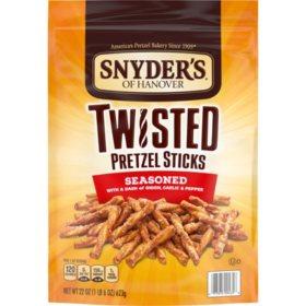 Snyder's of Hanover Twisted Pretzel Sticks (22oz)