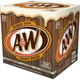 A&W Root Beer (12 fl. oz., 24 pk. )