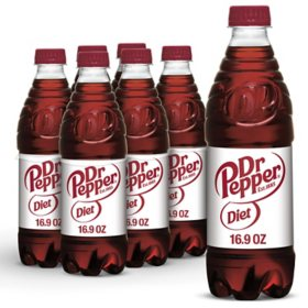 Diet Dr Pepper (16.9 oz., 24 pk.)