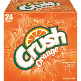 Crush Orange Soda (12oz / 24pk)