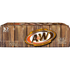 A&W Root Beer (12 oz. cans, 32 pk.)